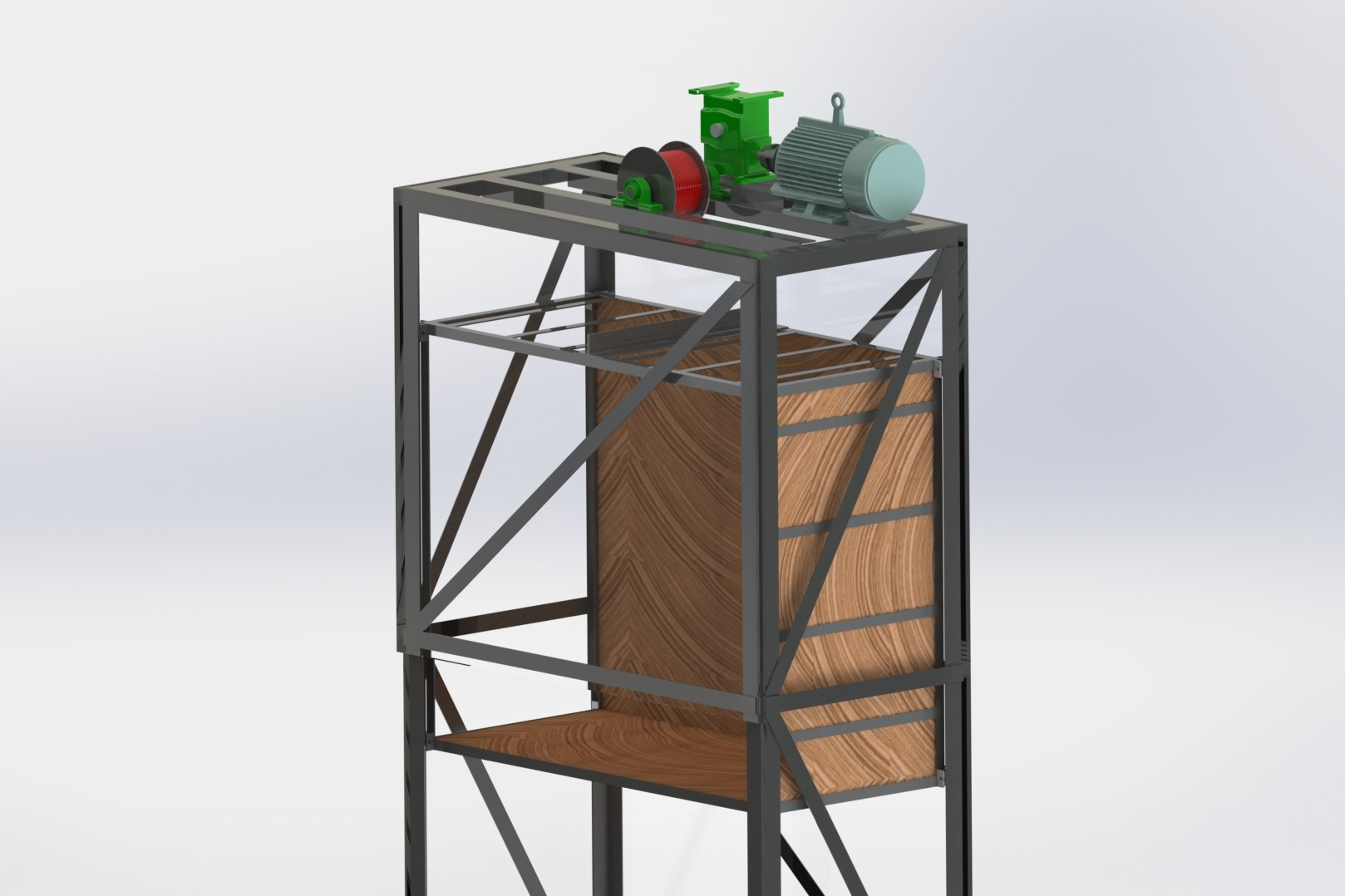 Dumb Waiter (Food trolley lift)